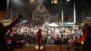 Mr.Feelgood auf dem Altmarkt zum Plauener Herbst