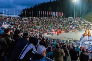 Skisprung-Weltcup in der Vogtlandarena